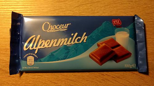 Schmeckt nicht mehr so fein: Choceur Alpenmilch.