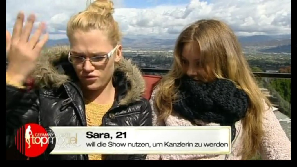 Bild: Germany's Next Topmodel by Heidi Klum, ProSieben, 3. Mai 2012