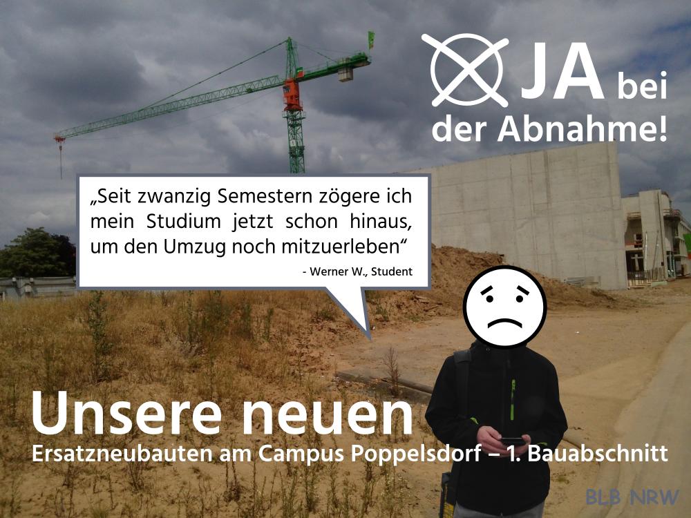 Vorbild Kurfürstenbad: BLB startet Werbekampagne für Abnahme des Campus Poppelsdorf